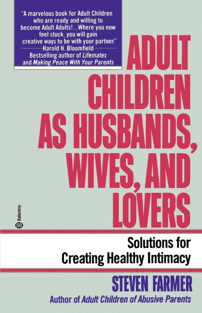 Adult Children as Husbands, Wives, and Lovers als Taschenbuch