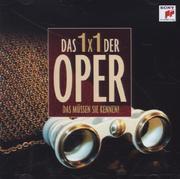 1x 1 der Oper