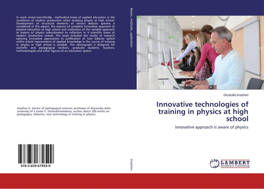 Innovative technologies of training in physics ...