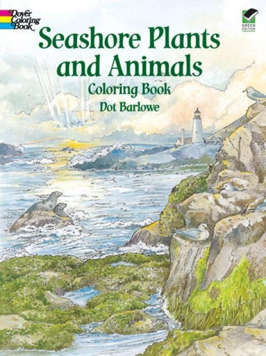 Seashore Plants and Animals Coloring Book als Taschenbuch