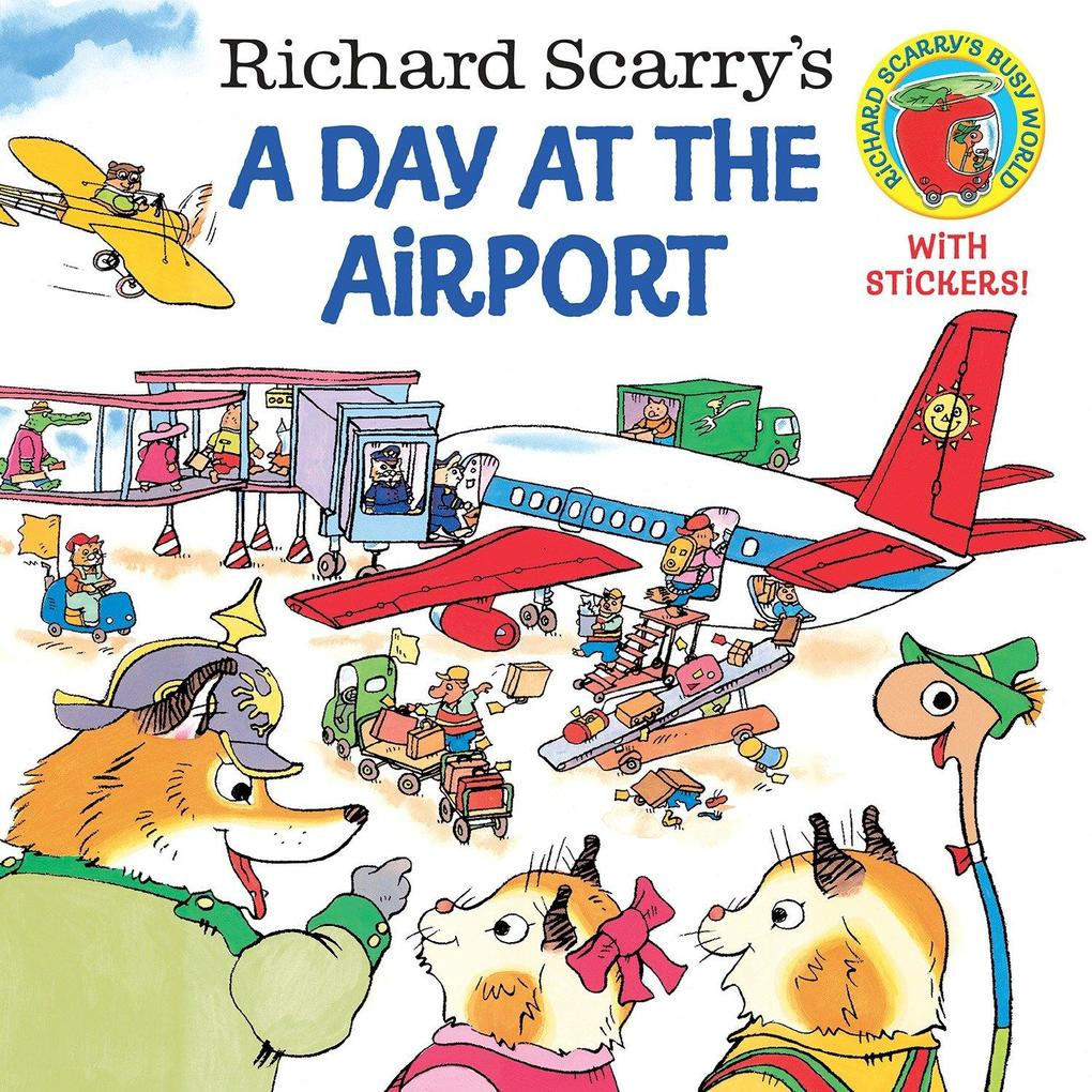 Richard Scarry's a Day at the Airport als Taschenbuch