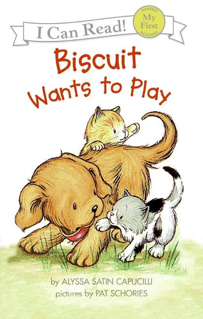 Biscuit Wants to Play als Buch