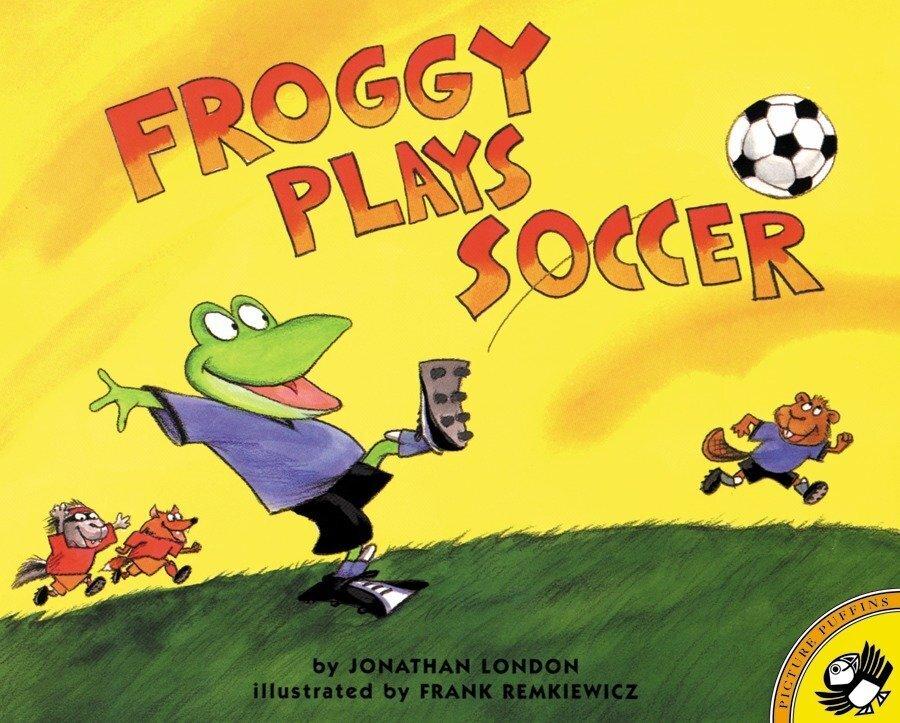 Froggy Plays Soccer als Taschenbuch