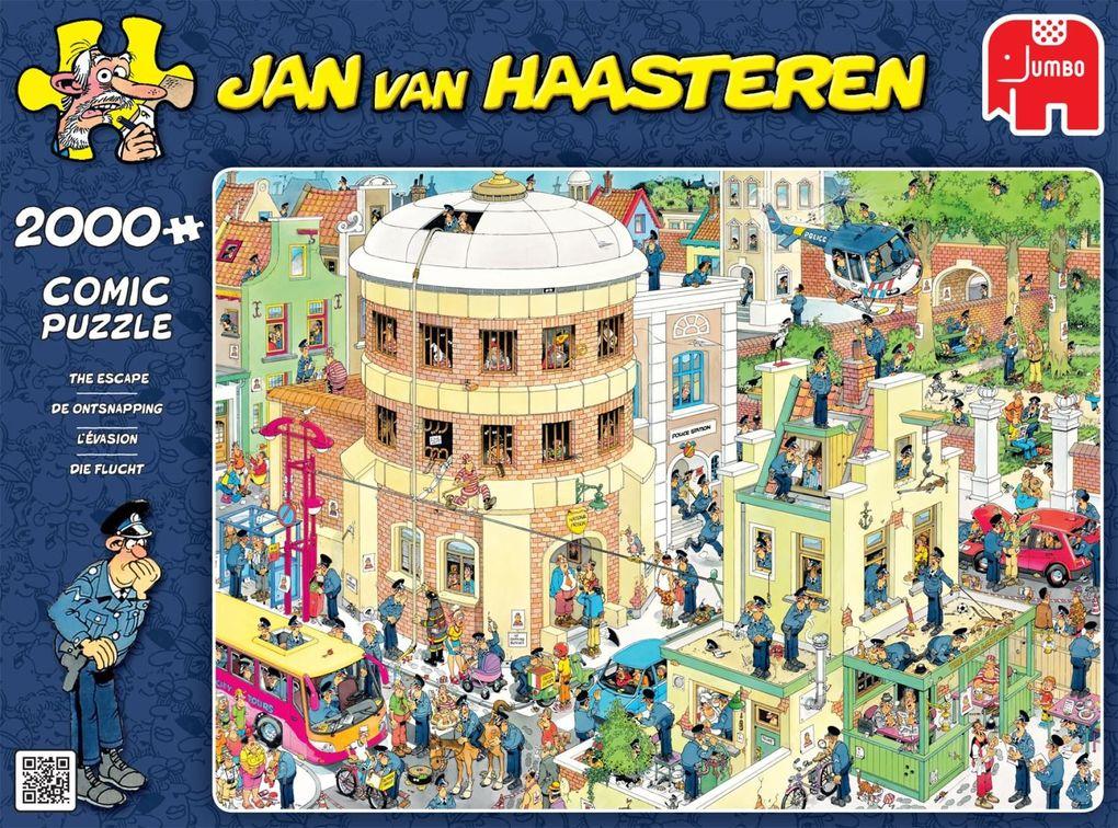 Jumbo Spiele - Jan van Haarsteren - Die Flucht,...