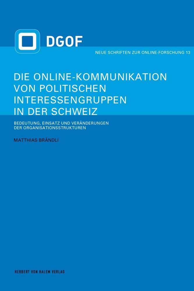 Die Online-Kommunikation von politischen Intere...