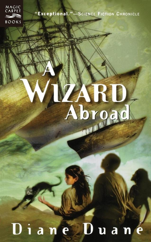 A Wizard Abroad: The Fourth Book in the Young Wizards Series als Taschenbuch