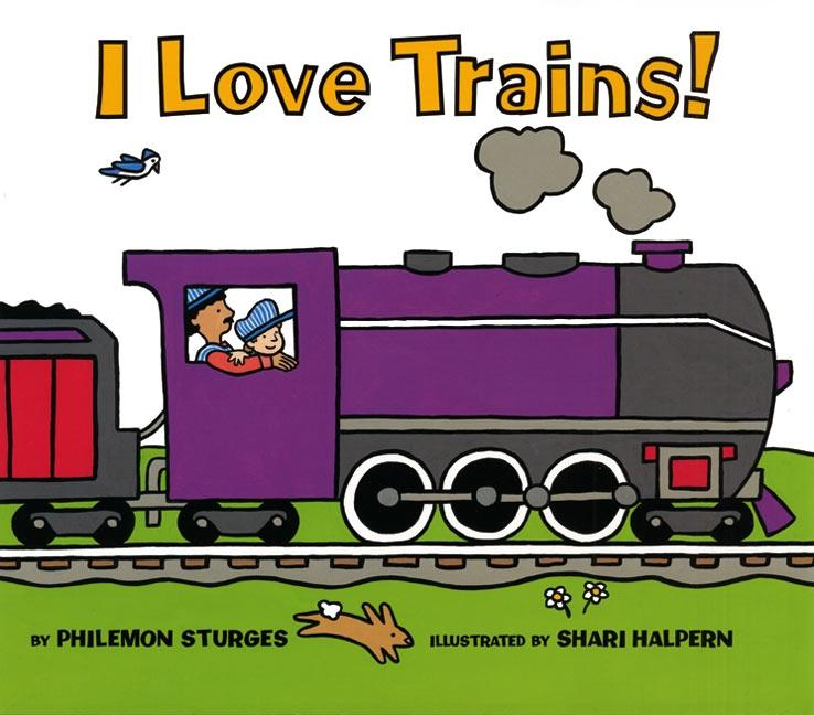 I Love Trains! als Buch