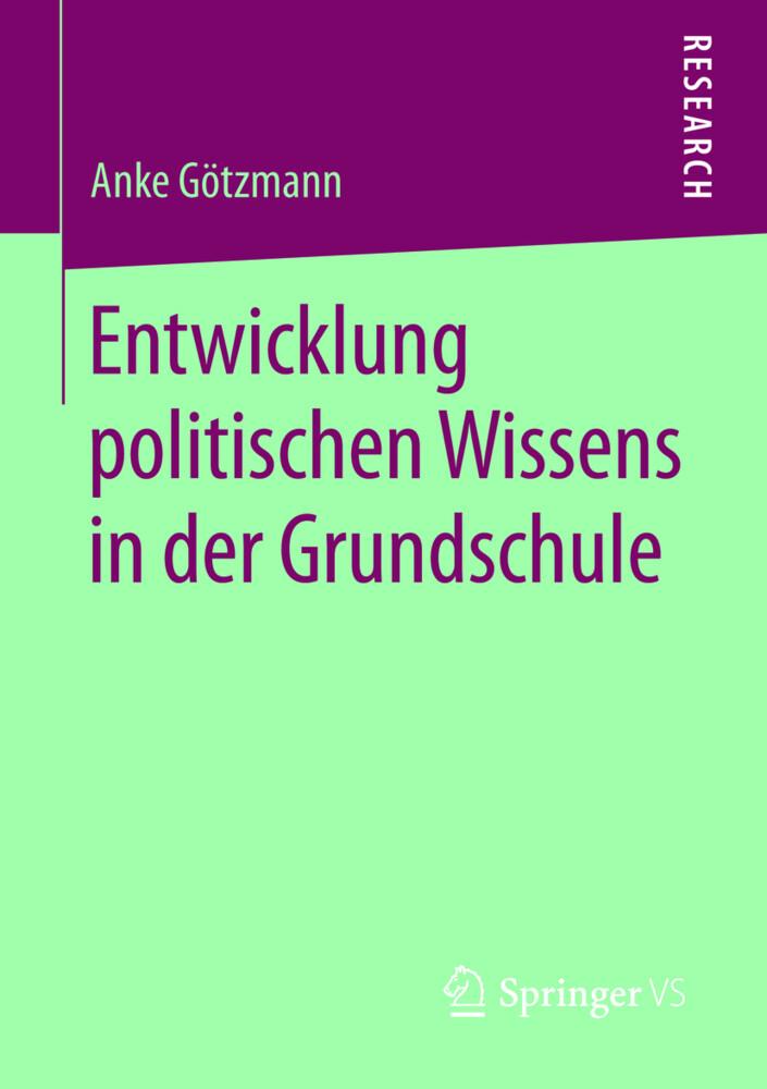 Entwicklung politischen Wissens in der Grundsch...