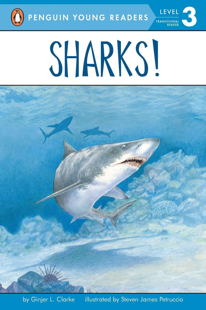 Sharks!: All Aboard Science Reader Station Stop 2 als Taschenbuch
