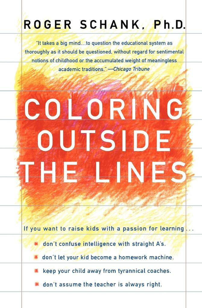 Coloring Outside the Lines als Taschenbuch