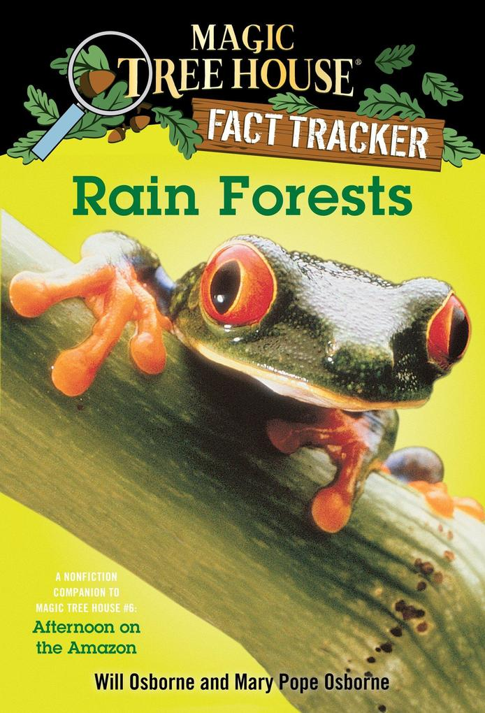 Magic Tree House Fact Tracker #5 Rain Forests als Taschenbuch