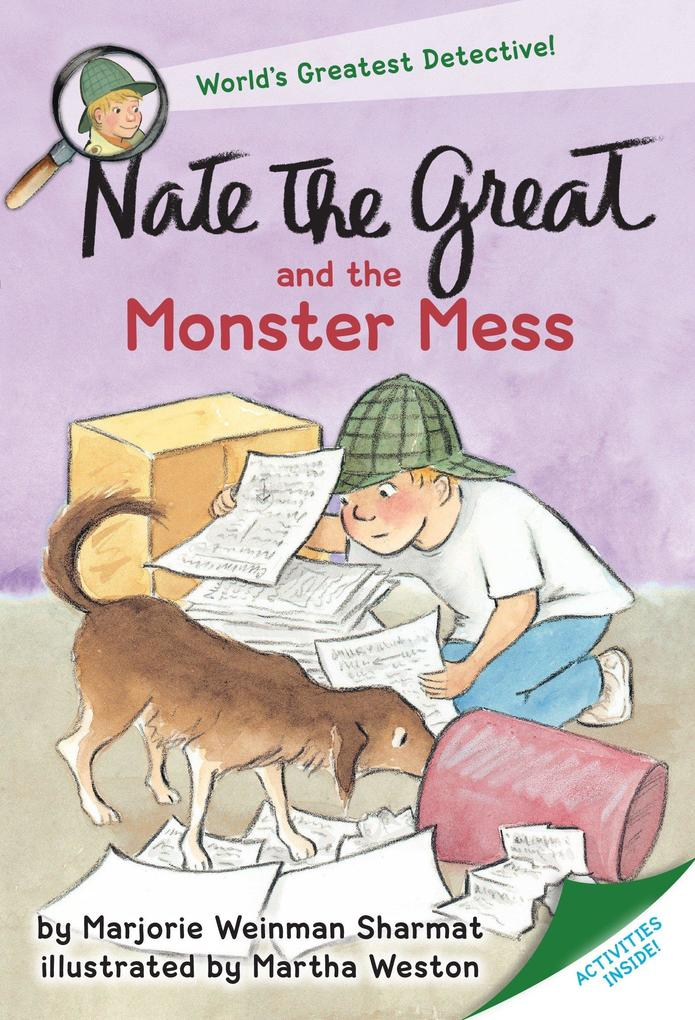 Nate the Great and the Monster Mess als Taschenbuch