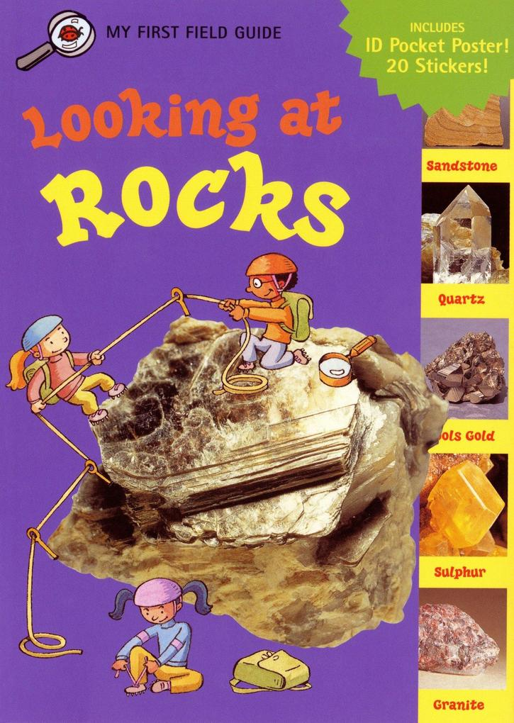 Looking at Rocks [With Sticker Sheet and Pocket] als Taschenbuch