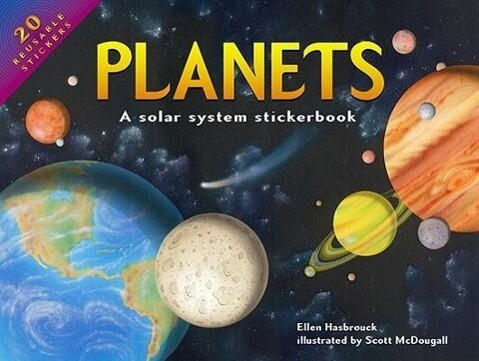 Planets: A Solar System Stickerbook als Buch