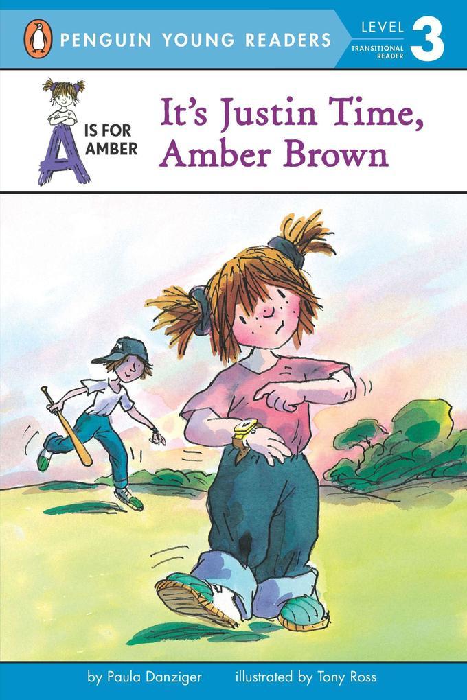 It's Justin Time, Amber Brown als Taschenbuch