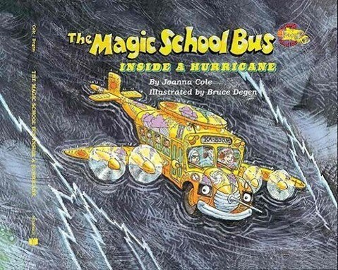 The Magic School Bus Inside a Hurricane als Taschenbuch