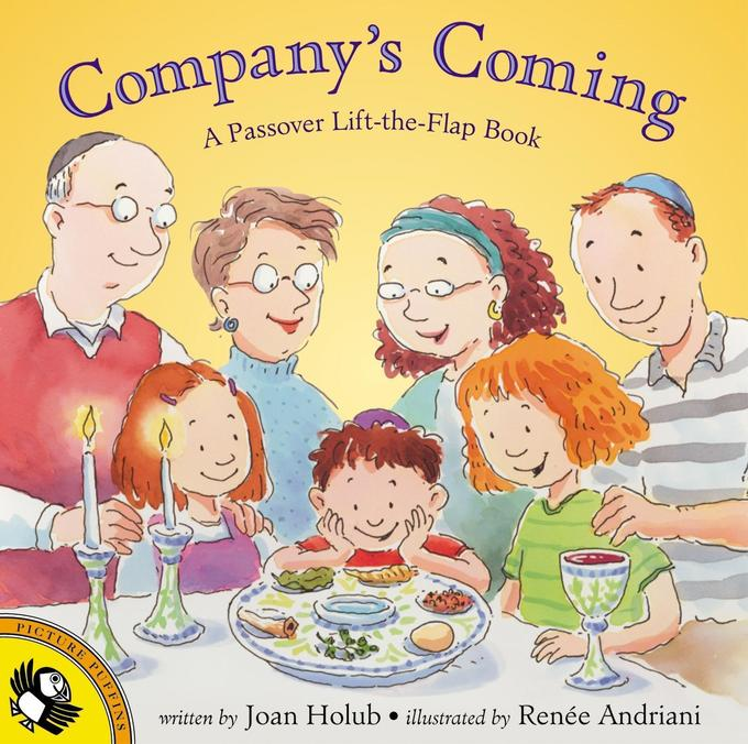Company's Coming: A Passover Lift-The-Flap Book als Taschenbuch