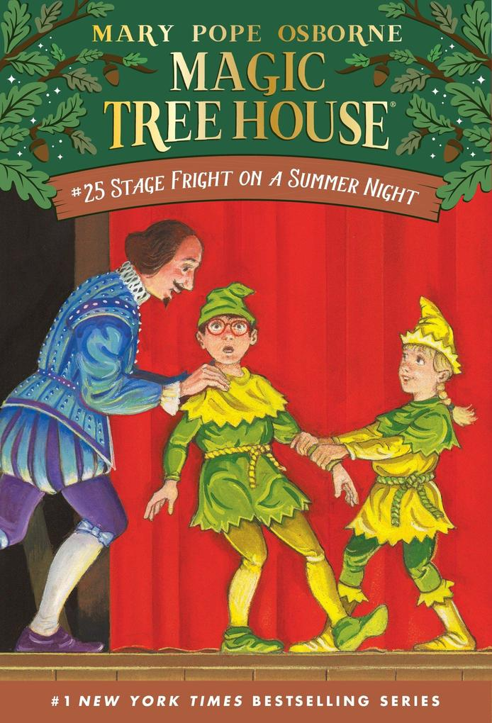 Magic Tree House 25 Stage Fright On A Summer Night als Taschenbuch
