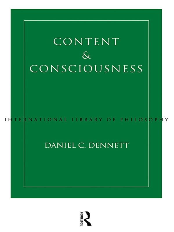 Content and Consciousness als eBook Download vo...