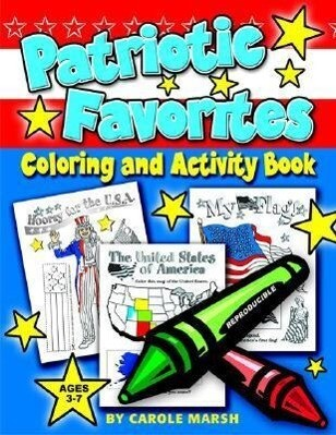 Patriotic Favorites-Coloring and Activity Book als Taschenbuch