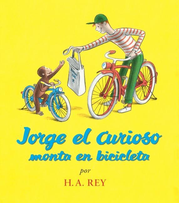 Jorge el Curioso Monta en Bicicleta = Curious George Rides a Bicycle als Taschenbuch