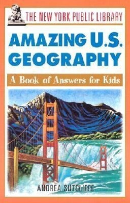 The New York Public Library Amazing U.S. Geography als Taschenbuch