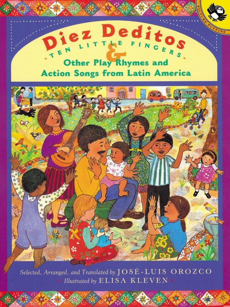 Diez Deditos and Other Play Rhymes and Action Songs from Latin America als Taschenbuch