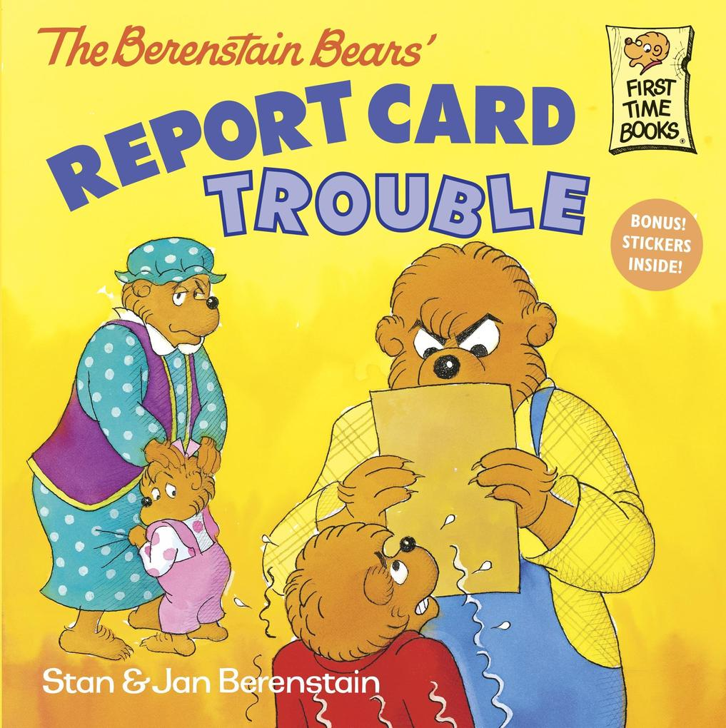The Berenstain Bears: Report Card Trouble als Taschenbuch