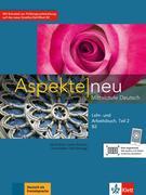 Aspekte neu B2. Lehr- und Arbeitsbuch mit Audio-CD. Teil 2