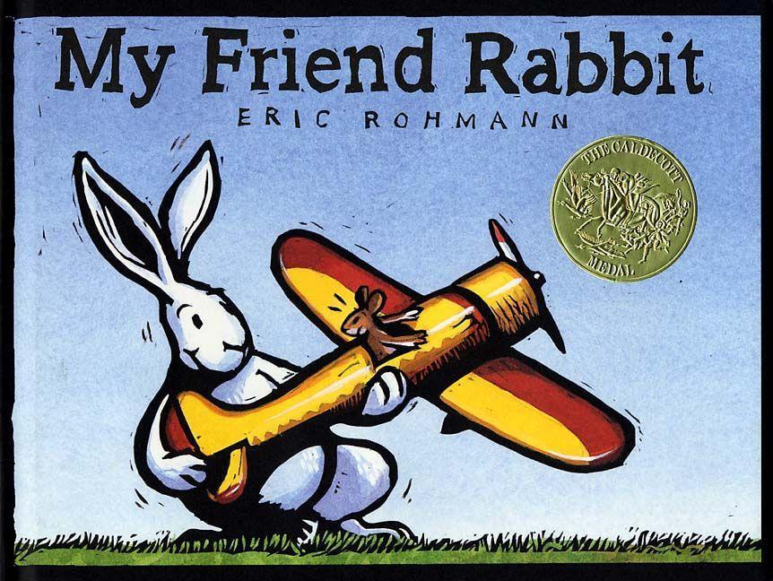 My Friend Rabbit als Buch