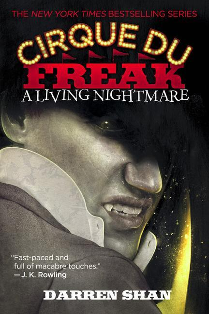 Cirque Du Freak #1: A Living Nightmare: Book 1 in the Saga of Darren Shan als Taschenbuch