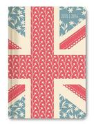 Collegetimer A5 day by day Union Jack 2015/2016