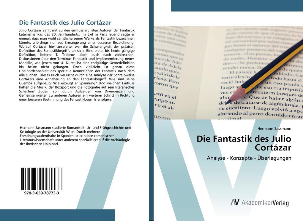 Die Fantastik des Julio Cortázar als Buch von H...