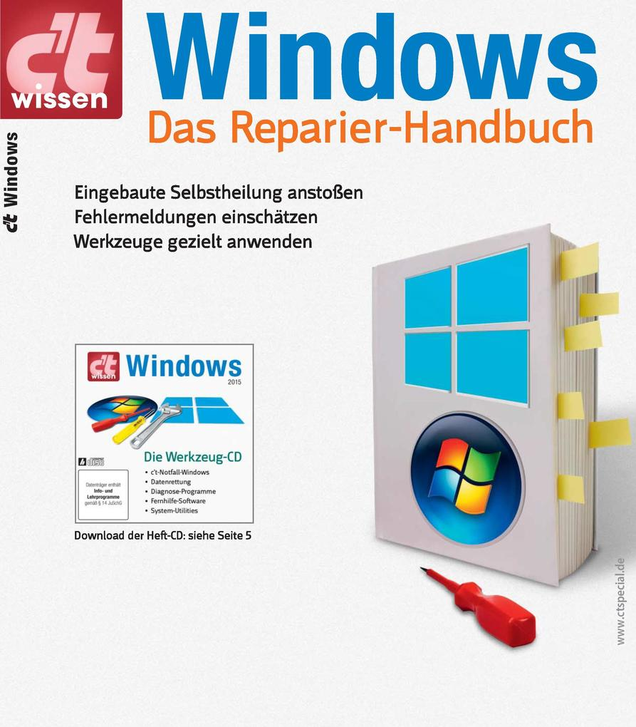 c´t wissen Windows (2015) als eBook Download vo...