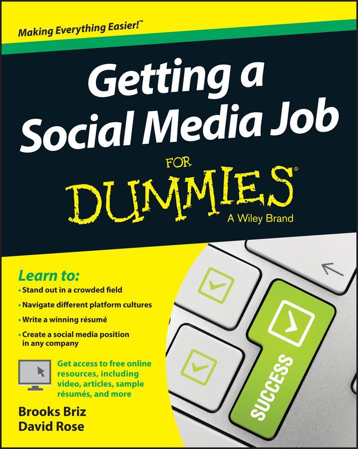 Getting a Social Media Job For Dummies als eBoo...