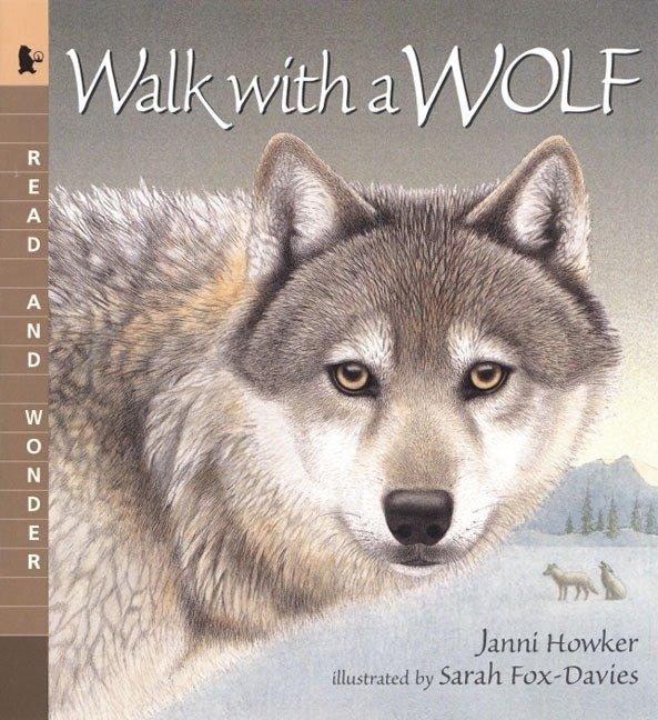Walk with a Wolf: Read and Wonder als Taschenbuch