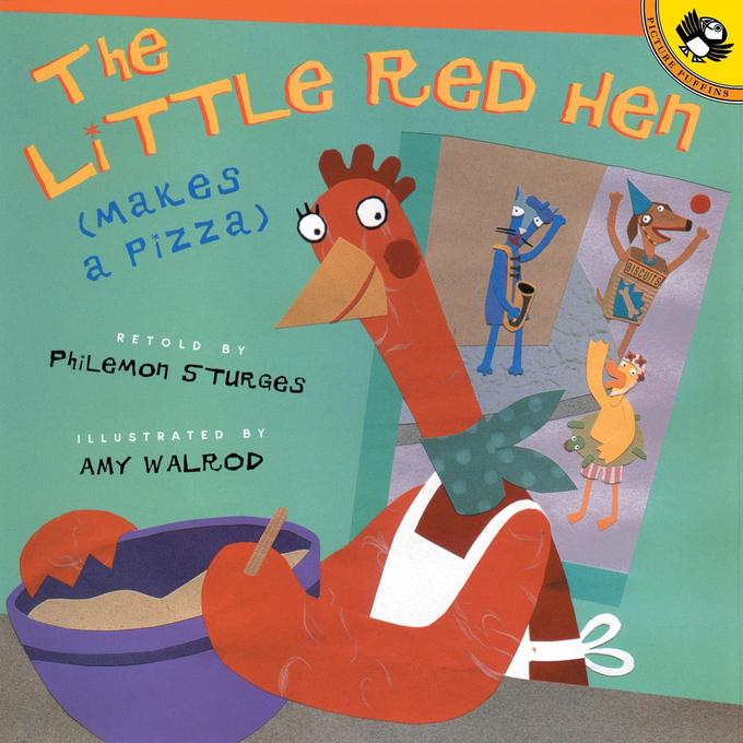 The Little Red Hen Makes a Pizza als Taschenbuch