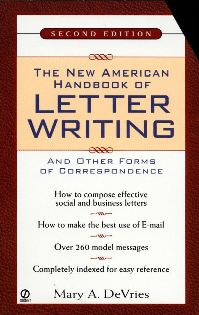 The New American Handbook of Letter Writing als...