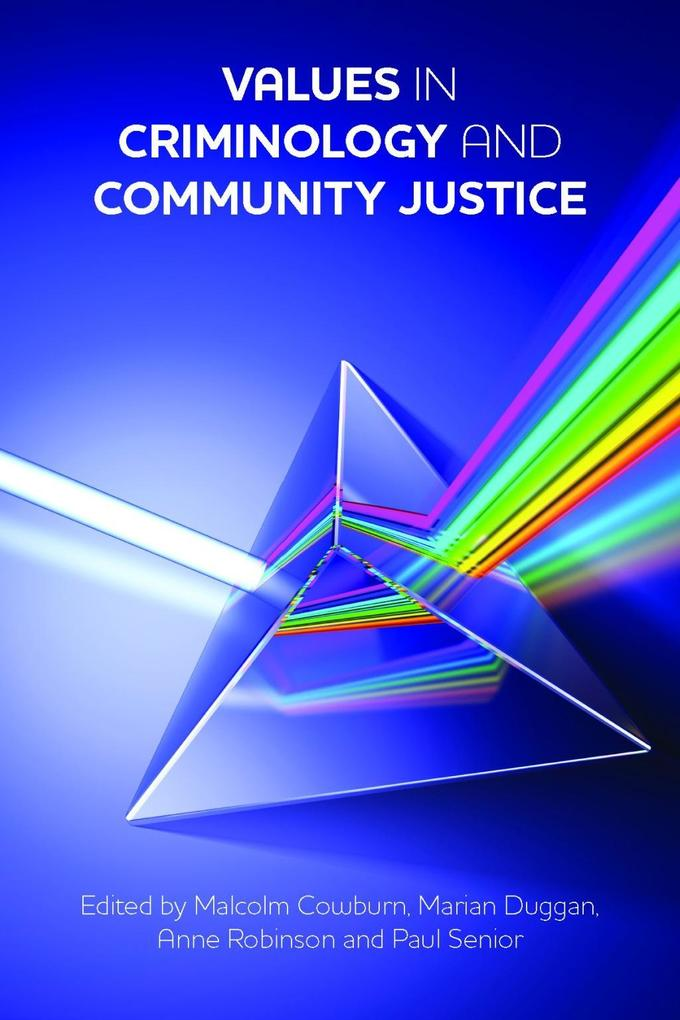 Values in criminology and community justice als...