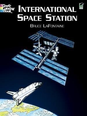 International Space Station Coloring Book als Taschenbuch