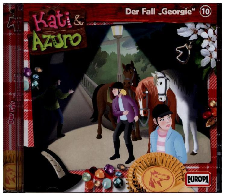 Kati & Azuro 10. Der Fall Georgie als Hörbuch C...