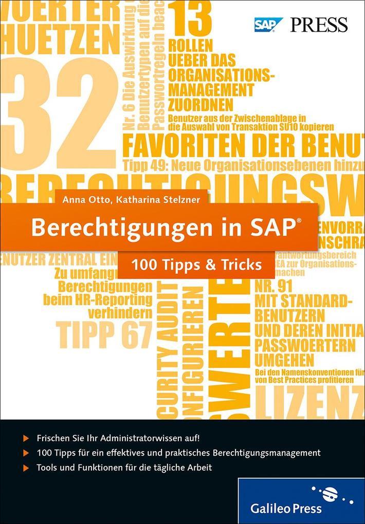 Berechtigungen in SAP ´ 100 Tipps & Tricks als ...