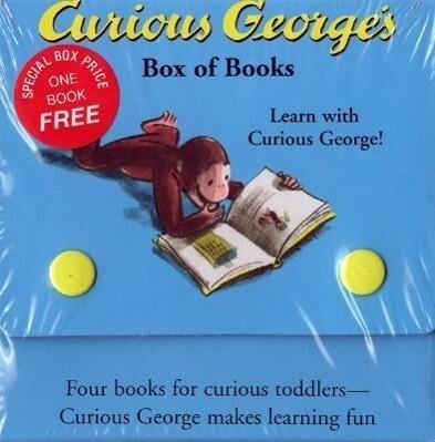 Curious George's Box of Books als Taschenbuch