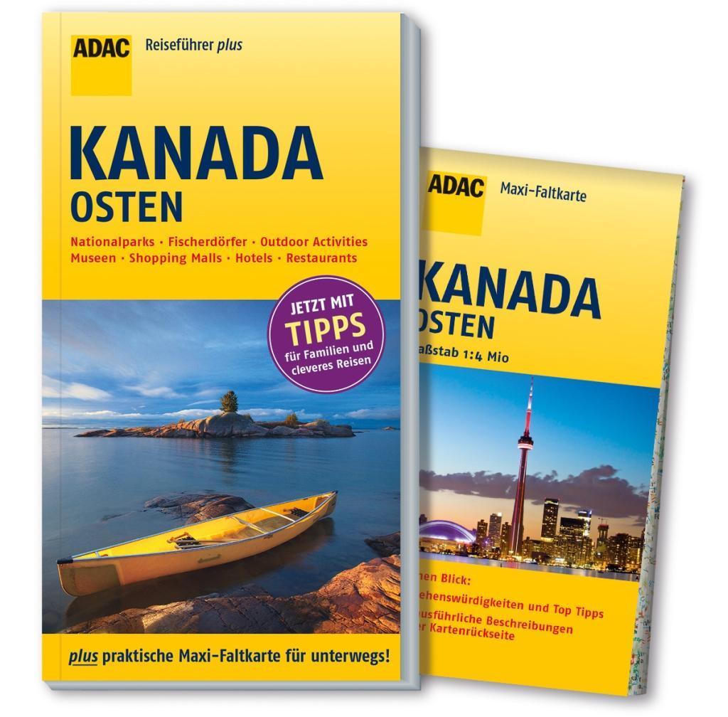 ADAC Reiseführer plus Kanada Osten als Buch von...