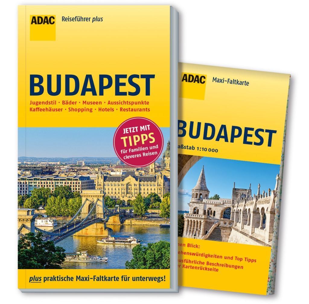 ADAC Reiseführer plus Budapest als Buch von Hel...