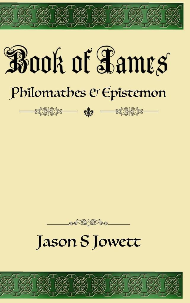 Book of James als Buch von Jason Jowett