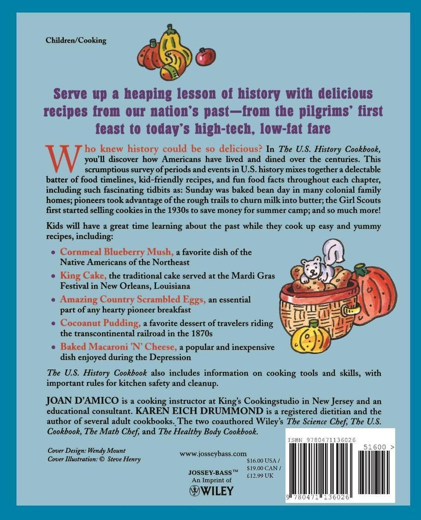 United States History Cookbook als Taschenbuch
