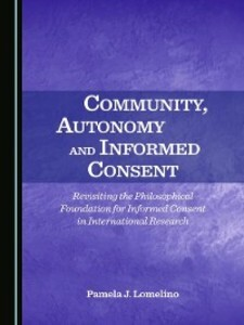 Community, Autonomy and Informed Consent als eB...