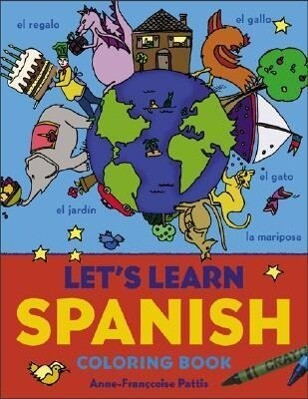 Let's Learn Spanish Coloring Book als Taschenbuch