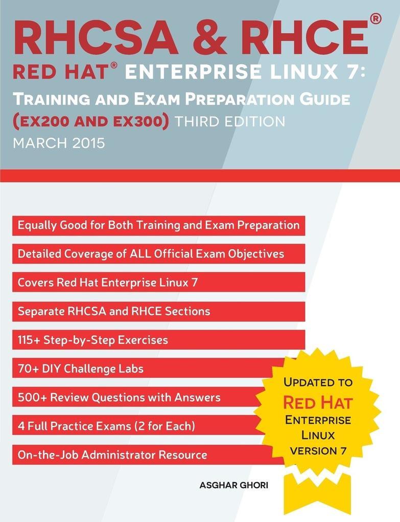 RHCSA & RHCE Red Hat Enterprise Linux 7 als Buc...